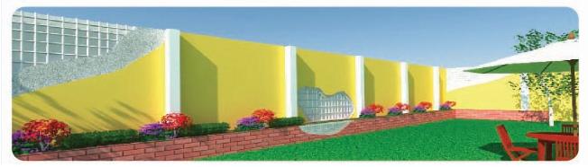 Muro perimetral - Panelconsa Nicaragua M2