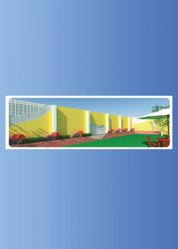 Muro perimetral - fabrica del sistema constructivo emmedue m2