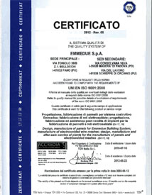 Certificado MTI Panelconsa emmedue
