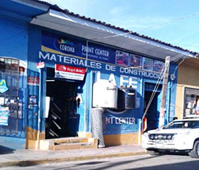 Ometepe Moyogalpa Materiales De Construccion Santa Ana